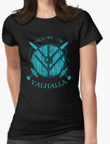 victory or valhalla (3) Womens Fitted T-Shirt