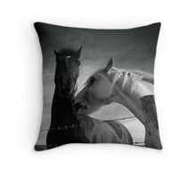 """""""There's no Escape"""" Throw Pillow"""