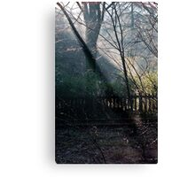 Morning at the Station take two Canvas Print