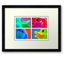 4 Ducks Framed Print