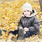 Autumn boy by Zuzana D Photography