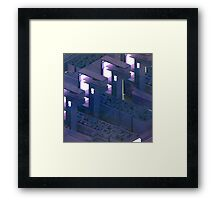 Lab Yrinth - Abstract render Framed Print