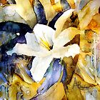 White Lily by Angela  Burman
