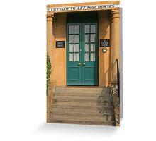 Angel House, Sherborne Greeting Card