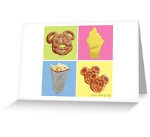 Vegan Treats Greeting Card