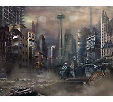 Post-Apocalypse Landscape Photographic Print