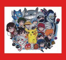 Team Anime One Piece - Short Sleeve
