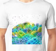 Caged - Abstract Computer Graphics Unisex T-Shirt