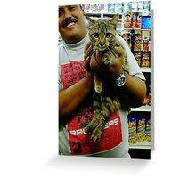 Ali & Bodega Cat Greeting Card