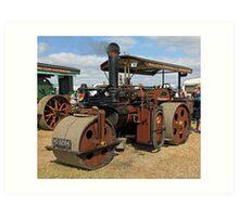 Traction Engine 6 Art Print