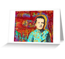Denny Imagination On Fire Greeting Card