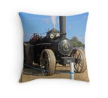 Traction Engine 00 Throw Pillow