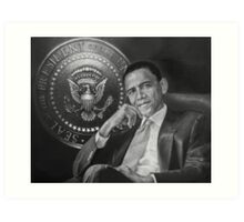 presidential seal Art Print