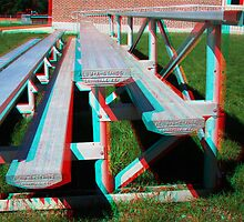 3D Bleachers comin' at ya by Rxe08