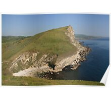 Gad Cliff From Worbarrow Tout Poster