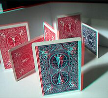 Cards (3d Anaglyph) by Rxe08