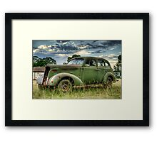 Yesteryear - HDR Framed Print