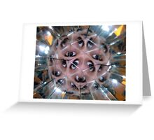 Eyeball ball Greeting Card