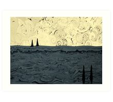 Great Salt Lake Art Print