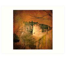Edinburgh Castle Art Print