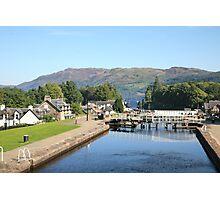 Loch Ness Lock Photographic Print