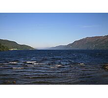 Loch Ness Shoreline Photographic Print