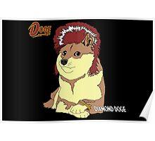 Diamond Doge (sans Comic Sans) Poster