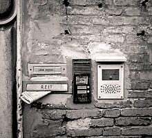Venice: Post box on house by Ron Greer