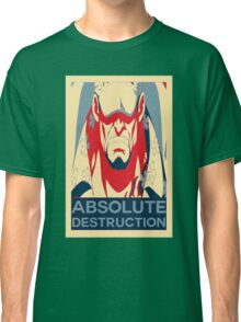 "Akainu ""Absolute Destruction"" Design Classic T-Shirt"