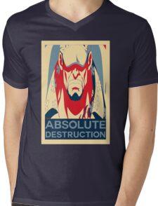 """Akainu """"Absolute Destruction"""" Design Mens V-Neck T-Shirt"""