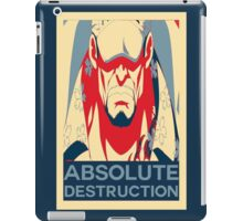 "Akainu ""Absolute Destruction"" Design iPad Case/Skin"