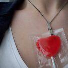Heart Lolly by Danielle  La Valle