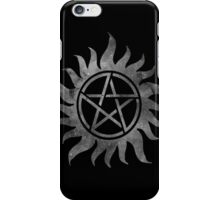 Supernatural Anti-Possession Ghost Print iPhone Case/Skin