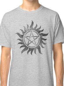 Supernatural Anti-Possession Ghost Print Classic T-Shirt