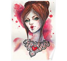 Queen of Hearts Poster
