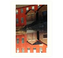 Collinsville Axe Factory Art Print