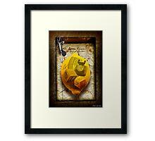The Lemon Escape Framed Print