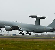 RAF Sentry by Peter Lawrie
