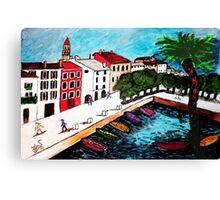 Ascona Immaginario Svizzera Canvas Print