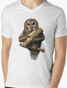 The owls are not what they seem Mens V-Neck T-Shirt
