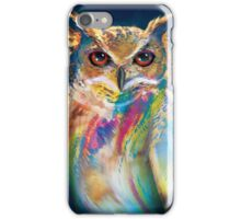 A Colorful Owl iPhone Case/Skin