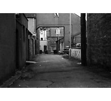Alleyway Investigation Photographic Print