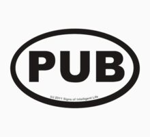 PUB location sticker by SOIL