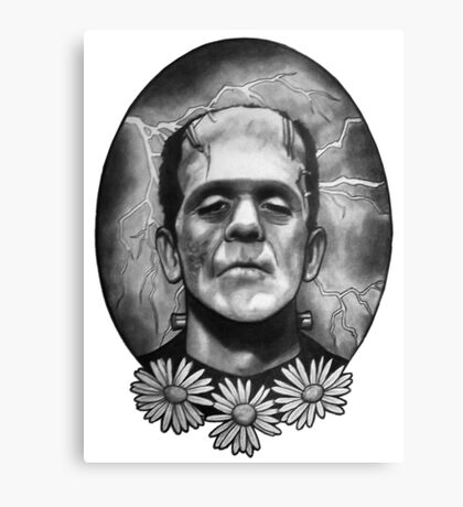 Boris Karloff as Frankenstein's Monster Canvas Print