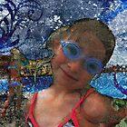 Batik Ocean Pose Midwest by FeeBeeDee