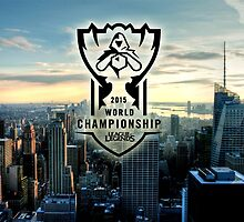 League of Legends World Championships 2015 HQ by Dhaxina
