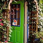 Behind the Green Door by Wanda Dumas