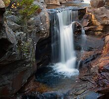 Screw Auger Falls Vertical View by Patrick Downey