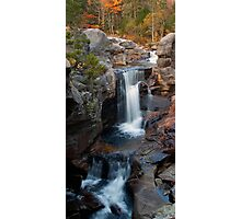 Screw Auger Falls Vertical View Photographic Print