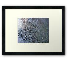 frosty the windowpane Framed Print